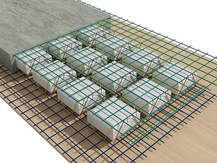 Cấu tạo bể nước mái trong công trình nhà ở dân dụng