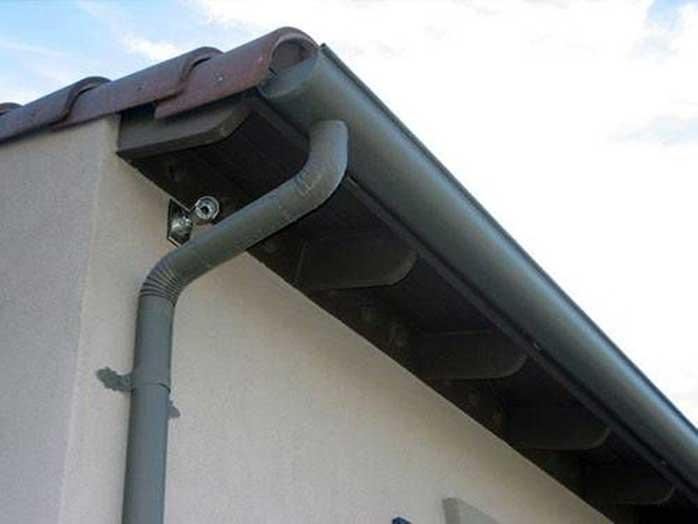 Cấu tạo hệ thống thoát nước mưa trên mái nhà