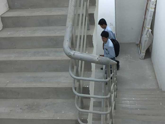 Tiêu chuẩn cầu thang thoát hiểm nhà cao tầng